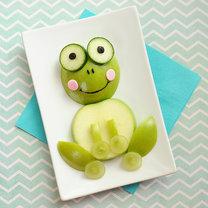 żabka z jabłka