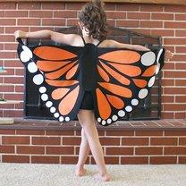 skrzydła motyla dla dziecka