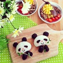 Panda z ryżu