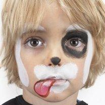 malowanie twarzy piesek - krok 3