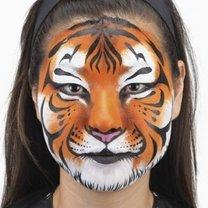 malowanie buziek tygrys