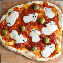 pizza na halloween