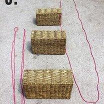 wisząca donica z koszyków - krok 3
