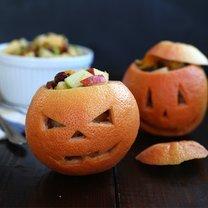 sałatka na Halloween