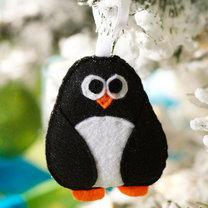 pingwin z filcu