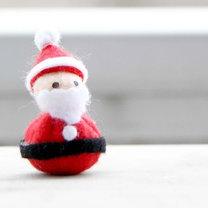 Mikołaj z filcu