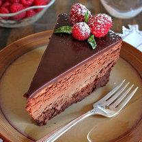 torcik czekoladowo-serowy