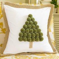 świąteczna poduszka z choinką