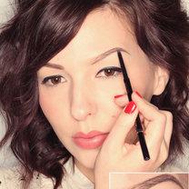 makijaż brwi - krok 3