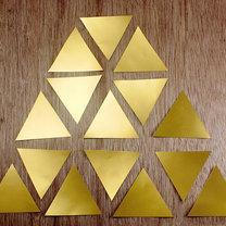 gwiazdki z papieru na choinkę - krok 2