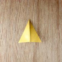 gwiazdki z papieru na choinkę - krok 3