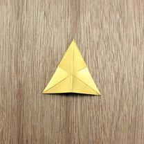 gwiazdki z papieru na choinkę - krok 5