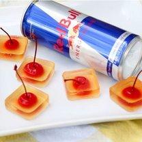 galaretki z wódki i redbulla