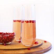 drinki z szampanem i likierem
