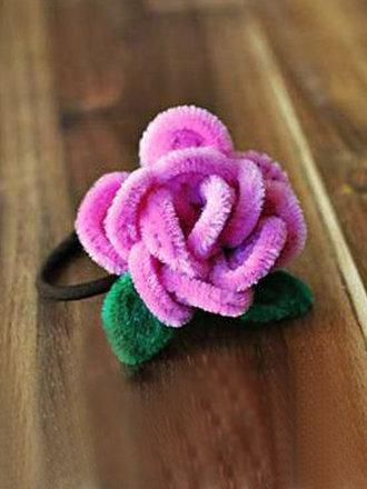 Jak Zrobic Ozdobe Do Wlosow Kwiatek Z Drucikow Kreatywnych Porada Tipy Pl