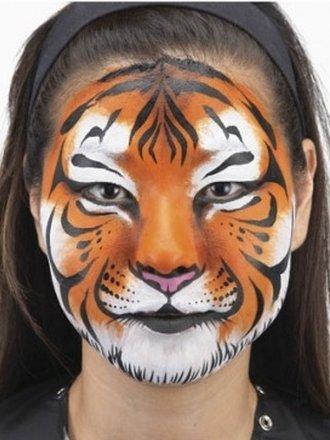 Jak Pomalować Buzię Dziecka W Tygrysa Porada Tipypl
