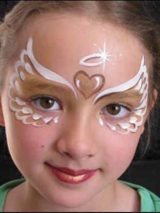 Jak Pomalować Buzię Dziecka W Aniołka Porada Tipypl