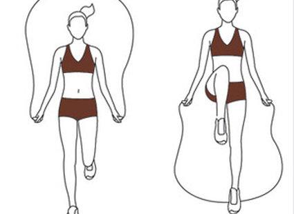 ćwiczenia na skakance - krok 4