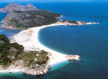 Wyspy Cies, plaża Rodas