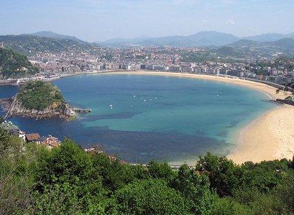 Playa de la Concha, San Sebastian