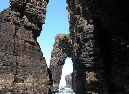 Playa de Las Catedrales, Galicja