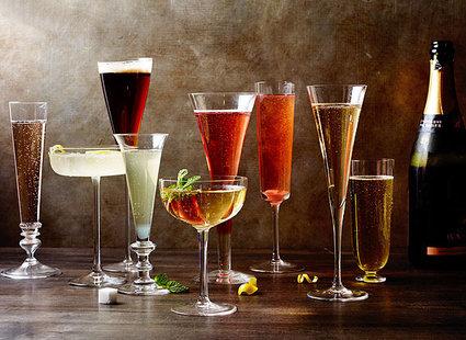 10 najlepszych drinków z szampanem – nie tylko na sylwestra