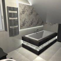 projekt łazienki paradyż