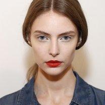 makijaż wiosna 2014 - jagodowe usta
