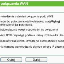 konfiguracja routera tp-link - krok 4