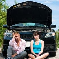 awaria samochodu