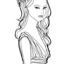 fryzura do sukienki w stylu boho