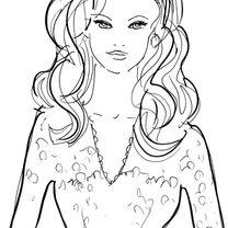 """fryzura do sukienki z dekoltem w kształcie """"v"""""""
