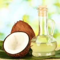 sposoby na grzybicę - olej kokosowy