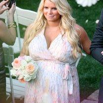 Ślub w ciąży - Jessica Simpson