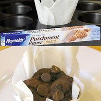 triki kuchenne - papilotki z papieru pergaminowego