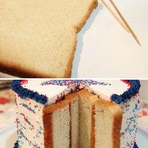 triki kuchenne - nieczerstwiejący tort