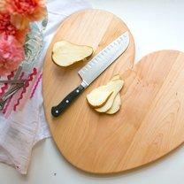 deska do krojenia serce