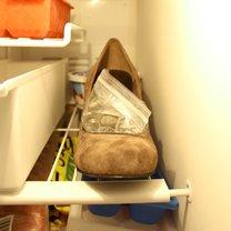 rozciąganie butów w palcach - krok 3