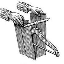 wieszanie spodni od garnituru - krok 1