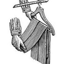 wieszanie spodni od garnituru - krok 3