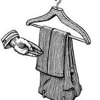 wieszanie spodni od garnituru - krok 4