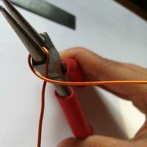 pierścionek klucz wiolinowy - krok 4