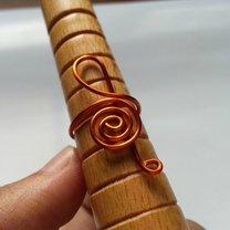 pierścionek klucz wiolinowy - krok 7