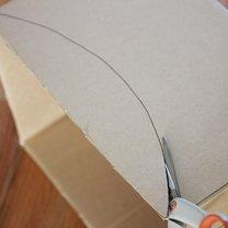 samolot z kartonu - krok 3