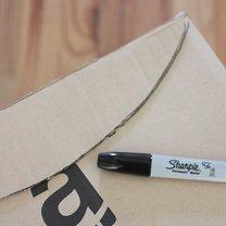 samolot z kartonu - krok 4
