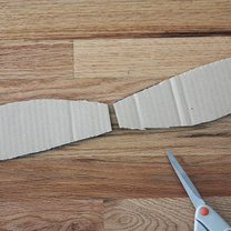 samolot z kartonu - krok 6