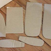 samolot z kartonu - krok 7