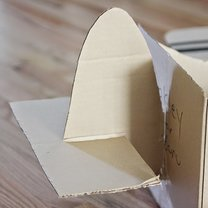 samolot z kartonu - krok 9