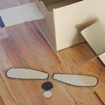 samolot z kartonu - krok 10