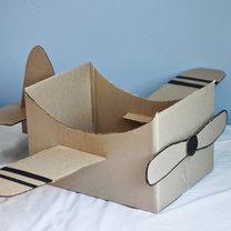 samolot z kartonu - krok 13